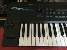 Roland D-50 Synthesizer & Damper Pedal