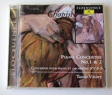 TAMAS VASARY . CHOPIN . PIANO CONCERTOS N° 1 & 2 . CD