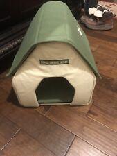 PET SHOPPE SOFT FABRIC PET HOUSE FOLDING FLAT TRAVEL/HOME PORTABLE SMALL DOGS
