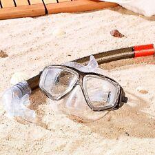 Einsteiger-Schnorchelset mit Taucherbrille Brille und Schnorchel Einsteigerset