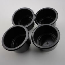 Universal 4PCS Black Boat Plastic Cup Drink Can Holder Boat Marine RV Super Good