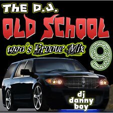 Old School Funk 1990 Groove Mix Vol 9 CD Non Stop RnB Hip Hop Mix