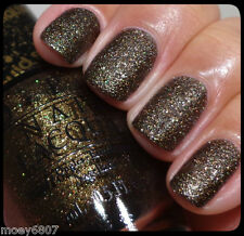 OPI Powerful OZ Liquid Sand WHAT WIZARDRY IS THIS? Brown Shimmer Nail Polish T62