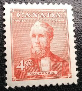 CANADA SG445 4 CENTS 1952 MINT HINGED Stamp