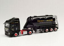 "Herpa 312172 Man Tgx Xlx Silo Semitrailer "" Berg Alarm "" Ho 1:87 New"