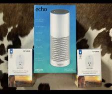 Amazon Echo (1st Generation) Smart Assistant And Smart Plugs