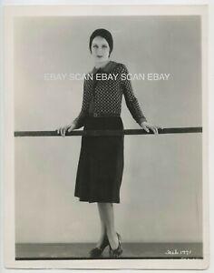 Fay Wray Early Vintage Linen Back Fashion Portrait Photo