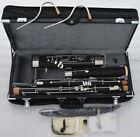 Professional Short Hand Bassoon Silver nickel Keys 2 Bocals Leather Case