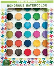 Kid Made Modern Wondrous Watercolor Paint Set 30 Colors Kids Arts and Crafts