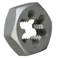 "1-3/8""-12 Carbon Steel Hex Rethreading Die, DWTHX13812"