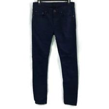 Acne Studios Mens Ace Ups Navy Jeans Size 30/34
