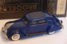 BROOKLIN BRK 7 1934 CHRYSLER AIRFLOW 4 DOOR SEDAN 1/43