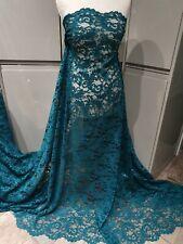 Starry Sequin Swirls Metallic Lace 100/% Polyester Net Bridal Dress Craft Fabric