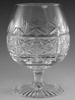 "Thomas WEBB Crystal - SHERATON Cut - Brandy Glass / Glasses - 5"""