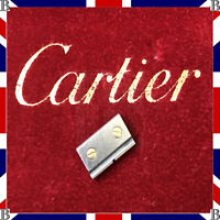 Cartier Santos Link Ladies Stainless Steel & Gold 18K 13.5 mm