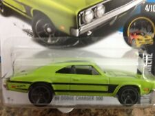 HOT WHEELS 2016-084 NIGHT BURNERZ '69 DODGE CHARGER 500 4/10 MC/5 GREEN
