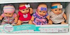 GIGO Toys Dream Collection 7 Inch Baby Happy Quints, With Headbands And Outfits