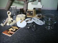 Vintage Oster Regency Kitchen Center 10-Speed Mixer/Blender/Food Processor