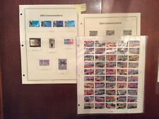 US Stamp 2002 Year Set Complete Scott# 3552-3745 With 181 Mint Stamps, 90 Used.