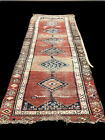 Very Worn Country House Runner, Superb Quality. 325 X 95 Cms