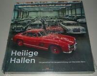 Bildband Mercedes Benz Heilige Hallen - Die geheime Fahrzeugsammlung Buch NEU!