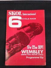 Vintage Original Skol 6 Day Program & Ticket 1971 Hugh Porter Barry Hoban Peter