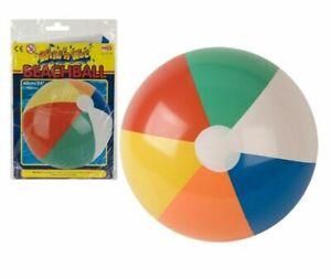 Aufblasbarer Wasserball Strandball Volley Ball Riesenball Beach Ball 60 cm ABAV