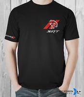 Dodge SRT Hellcat Red Stripes Car T-Shirt - S M L XL 2XL 3XL - EZ-Vision Designs