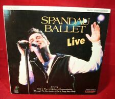 Laserdisc {x} * Spandau Ballet * Live (punch)