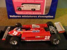 1/43 Pfuit Ferrari 126ck turbo Gran Prix de italienne 1981