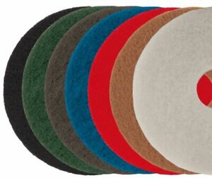 Dry Buffing & Final Polishing Maintenance Pads Floor Cleaning Scrubbing