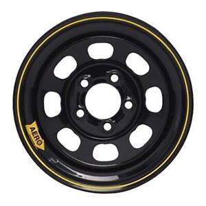 "Aero Race Wheels 50 Series Black Roll-Formed Wheel 15""x8"" 5x4.5"" BC 50-184540"