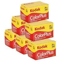 6x  Kodak Colorplus 200 35mm 24Exp -  CHEAP Colour Print Film