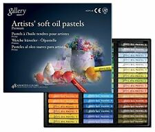 MUNGYO Gallery Soft Oil Pastels Set of 48 Assorted Colors Made in Korea UK