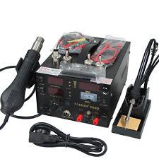 220V Hot Air Gun Power supply 3IN1 Soldering REWORK STATION Saike 909D