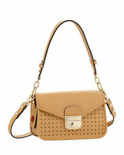 NWT $985 Longchamp Mademoiselle Small Crossbody in Natural