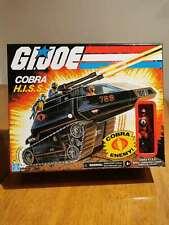 GI Joe Retro Cobra H.I.S.S Walmart Exclusive HISS Vehicle Tank Enemy In Hand