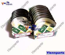 For ISUZU 3KR1 3KR2 Crankshaft Main Bearing & Conrod Bearing +0.25 Thrust washer