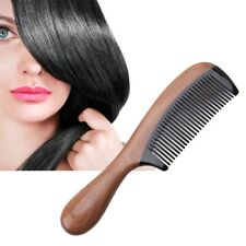 Pro Natural Fragrant Comb Ox Horn Green Sandalwood Wooden Handle Combs Hair Care