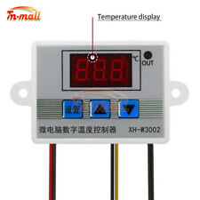 W3002 Digital LED Temperature Controller AC 110-220V Thermostat with Transformer
