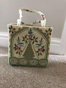 Christiana Beaded Purse Handbag Vintage Art Deco Design