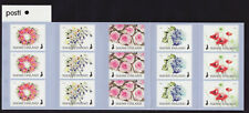 Finland 2018 MNH - Flowers of Happiness - booklet with 3 sets of 5 stamps