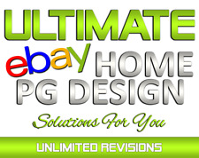 🔥 Custom eBay Store Shop Logo Billboard Banner Design for USA / UK / AU / CA