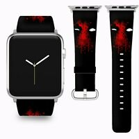 Deadpool Apple Watch Band 38 40 42 44 mm Series 5 1 2 3 4 Wrist Strap 05