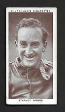 Churchman - Kings of Speed (1939)  # 31 Stanley Woods ( Motor Cycling)