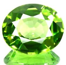 Peridot Loose Gemstone Green Oval 1.67 Carats 123739071568
