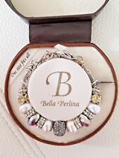 NWT Bella Perlina - Pandora Collection Bracelet Style - Pearl