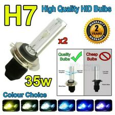 H7C 4300k HID 35w Replacment Bulbs AC Xenon Metal Base Headlight Uk Seller 6k