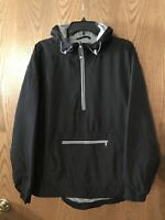 NEW Lauren James Women's Anorak Pullover Hooded Windbreaker,Rain Jacket sz Large