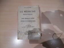 livre ancien du dr o dubois la medecine nouvelle